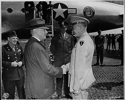 General Eisenhower in Eschborn