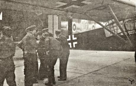 Ankunft von A.E. Malmstrom in Eschborn
