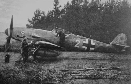 Bf 109 des JG53 Pik As